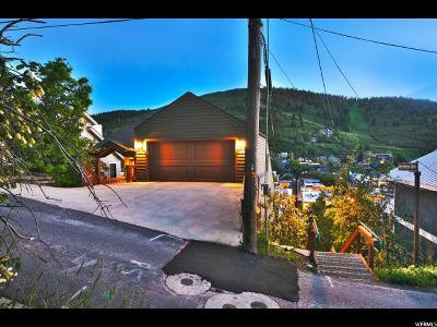 Park City Single Family Home For Sale: 361 Ontario Ave