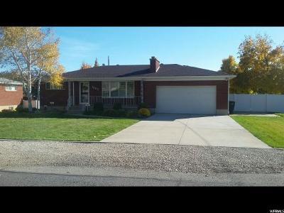 South Jordan Single Family Home For Sale: 1095 W 10550 S