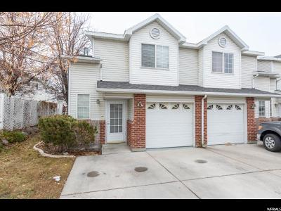 West Jordan Townhouse For Sale: 3248 W Scotch Pine Ln