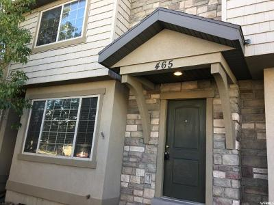 Orem Townhouse For Sale: 465 N 1235 W
