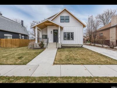 Salt Lake City Single Family Home For Sale: 1129 E Roosevelt Ave S