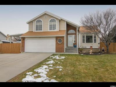 West Jordan Single Family Home For Sale: 8286 S 1850 W