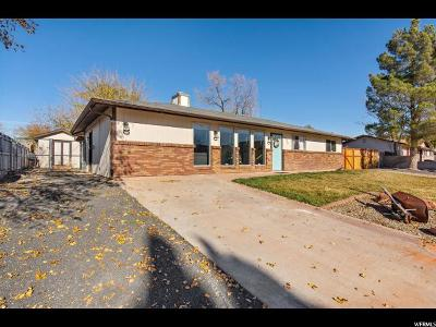 St. George Single Family Home For Sale: 1326 W 710 N