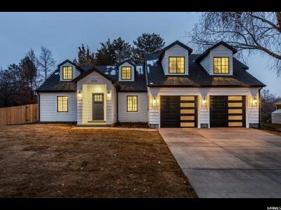 Salt Lake City Single Family Home For Sale: 2010 E Sheridan Rd