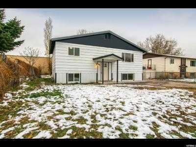 Salt Lake City Single Family Home For Sale: 1819 W Aries Cir