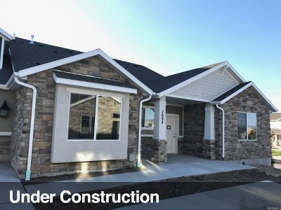 West Valley City Townhouse For Sale: 7027 W Oromia View Way S #LOT308