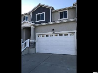 Herriman Townhouse For Sale: 4188 W Shade Crest Ln