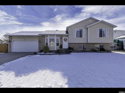 West Jordan Single Family Home For Sale: 1419 W Misty Hollow Way S