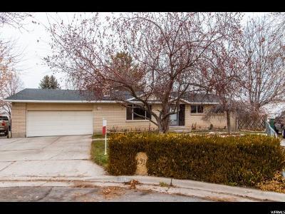 West Jordan Single Family Home For Sale: 6917 Jefferson Cir