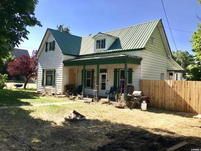 Santaquin Single Family Home For Sale: 15 E 100 S