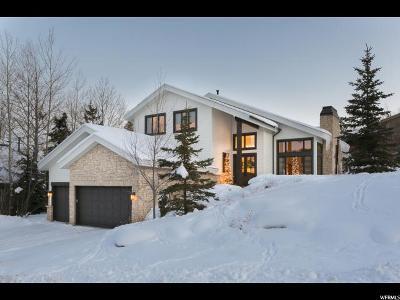 Park City Single Family Home For Sale: 2611 Aspen Springs Dr
