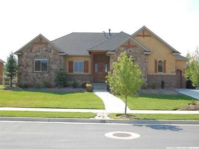West Jordan UT Single Family Home For Sale: $500,000