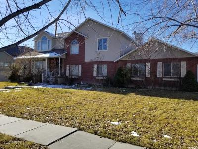 West Jordan Single Family Home For Sale: 9092 S Excaliber Way W