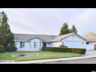 St. George Single Family Home For Sale: 2254 E 170 N