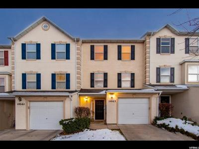 Draper Townhouse For Sale: 14663 S Culross Ln E