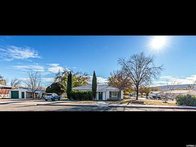 St. George Single Family Home For Sale: 8 E 500 S