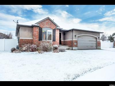 West Point UT Single Family Home For Sale: $349,900
