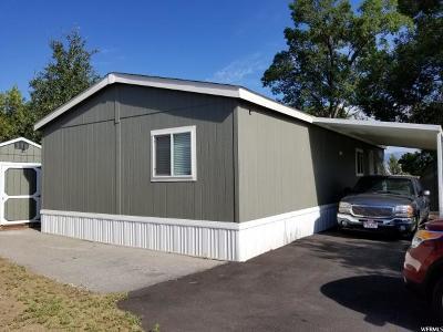 Layton UT Single Family Home For Sale: $73,900