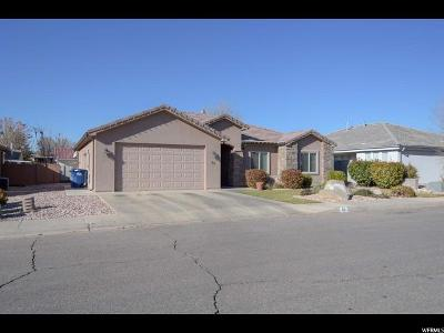 St. George Single Family Home For Sale: 93 N 2890 E