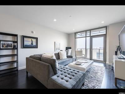 Salt Lake City Condo For Sale: 99 W South Temple St. #605