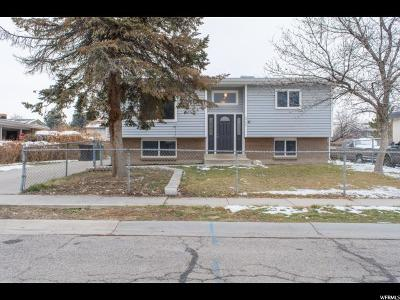 West Jordan Single Family Home For Sale: 8748 S 3780 W