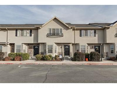 Springville Townhouse For Sale: 1029 S 1850 W Kingsbury Rd W