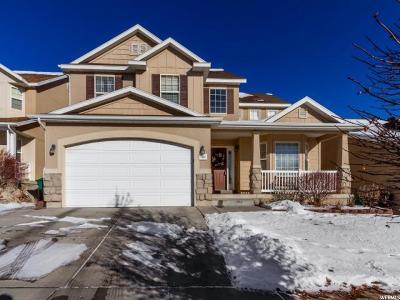 West Jordan Single Family Home For Sale: 6652 W Brook Maple S