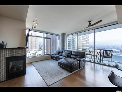 Salt Lake City Condo For Sale: 35 E 100 So. S #1303