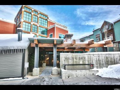Park City Condo For Sale: 201 Heber Ave #209D