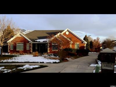 Draper Single Family Home For Sale: 12111 Heron Ridge Cir