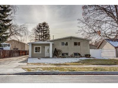 Murray Single Family Home For Sale: 832 E Mar Jane Ave S