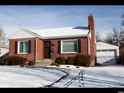Salt Lake City Single Family Home For Sale: 2667 S Melbourne E
