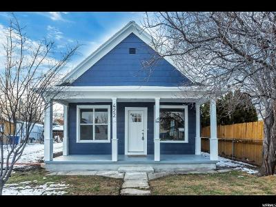 Salt Lake City Single Family Home For Sale: 422 S Post St