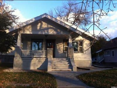 Logan Multi Family Home For Sale: 440 N 400 E