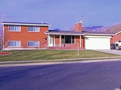Brigham City Single Family Home For Sale: 192 W Fishburn Dr