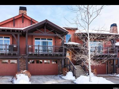 Wasatch County Townhouse For Sale: 14084 N Council Fire Trl #14D