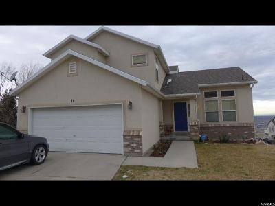 Draper Single Family Home For Sale: 91 E Kaysville Ct