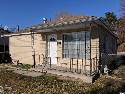 Salt Lake City Single Family Home For Sale: 1142 W Illinois Ave S