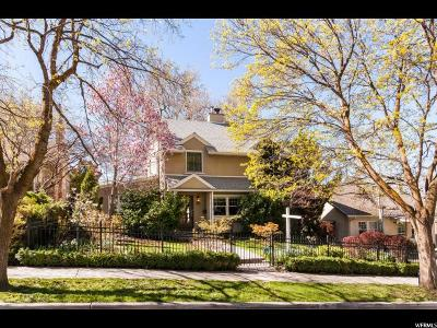 Salt Lake City Single Family Home For Sale: 1160 E Michigan Ave S