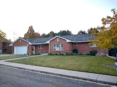 Orem Single Family Home For Sale: 133 W Westview Dr