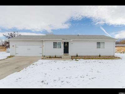 Hyrum Single Family Home Under Contract: 324 W 100 S