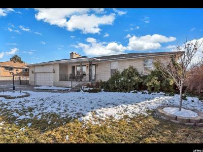 West Valley City Single Family Home For Sale: 4865 W 3235 S