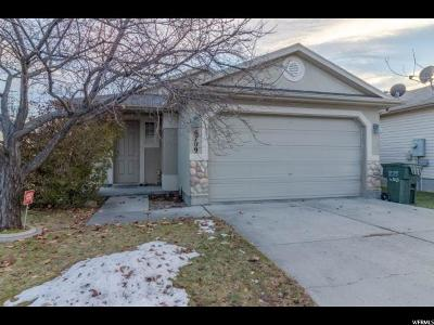 West Jordan Single Family Home For Sale: 6709 S Empress Ln