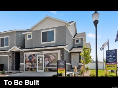 Herriman Townhouse For Sale: 14892 S Messi St #2238