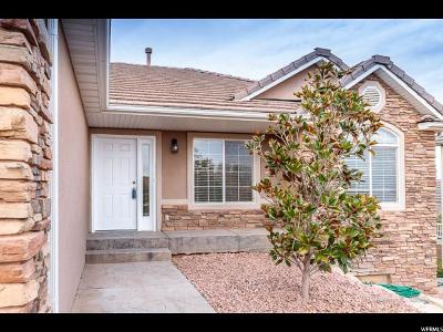St. George Single Family Home For Sale: 3560 S Price Hills Dr
