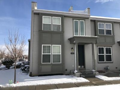 South Jordan Townhouse For Sale: 4492 W Milford Dr S