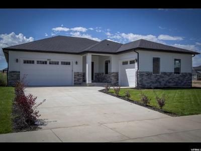 Spanish Fork Single Family Home For Sale: 1099 N Ponderosa Ln