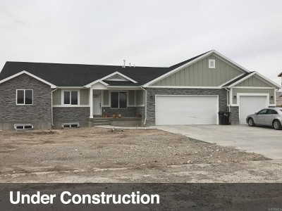 Tremonton Single Family Home Under Contract: 1075 E 250 S #40