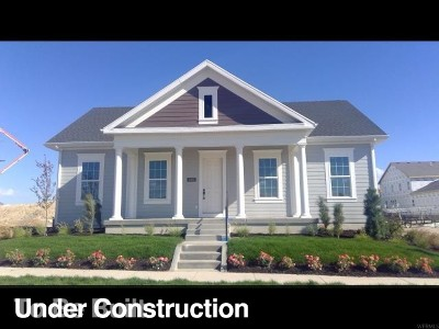 South Jordan Single Family Home For Sale: 6366 W Morning Point Way S