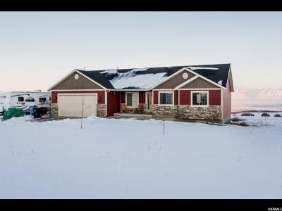 Cache County Single Family Home For Sale: 2040 N 8000 W